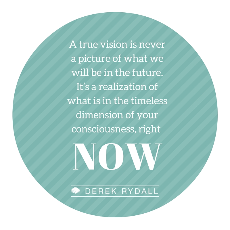 A True Vision is Never | Derek Rydall