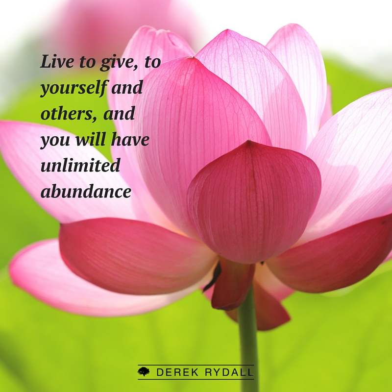 Unconditional Giving: The Path of True Abundance