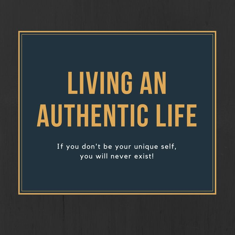 Living an Authentic Life [Podcast]