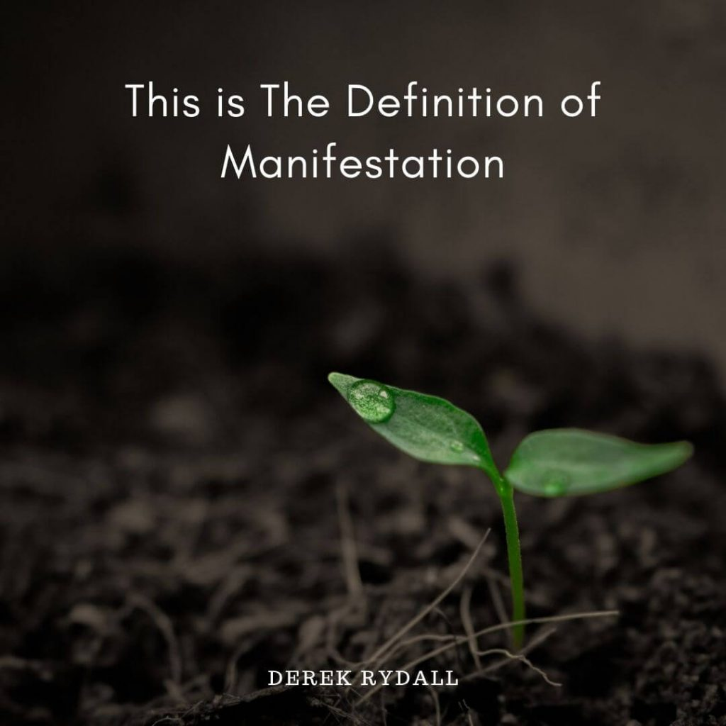 This is The Definition of Manifestation [Podcast]