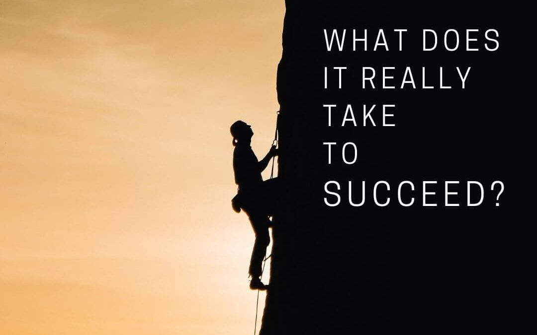 What Does it Really Take to Succeed? [Podcast]